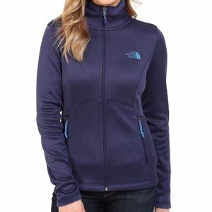 The North Face Agave Fleece Jacket Purple Blue